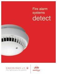 Fire alarms system detect (pdf) - Caccialanza & C.