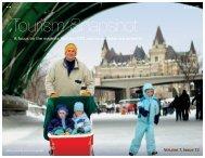Tourism Snapshot December 2011 Volume 7, Issue 12 - Canadian ...