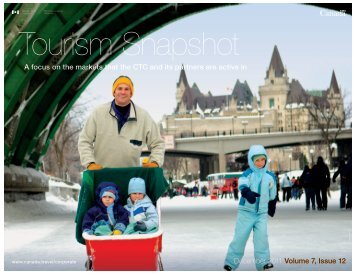 Tourism Snapshot December 2011 Volume 7, Issue 12 - Canadian ...