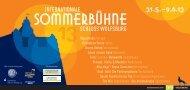 Programm der Sommerbühne 2013 (PDF; 2 MB; öffnet ... - Wolfsburg
