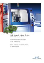 UV Laser for Depaneling and Cover-Layer Cutting     - Pannoncad