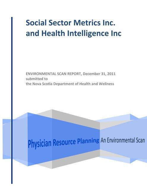 Environmental Scan - Government of Nova Scotia