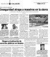 Forman un TUCPRI Inseguridad atrapa a maestros en la sierra - Page 4