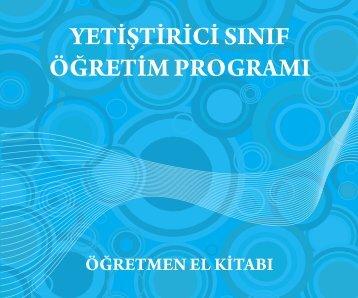 YSÖP öğretmen el kitabı - Milli Eğitim Bakanlığı