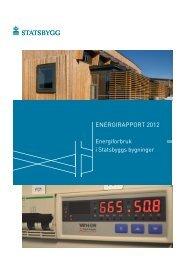 Energirapport 2012 - Statsbygg