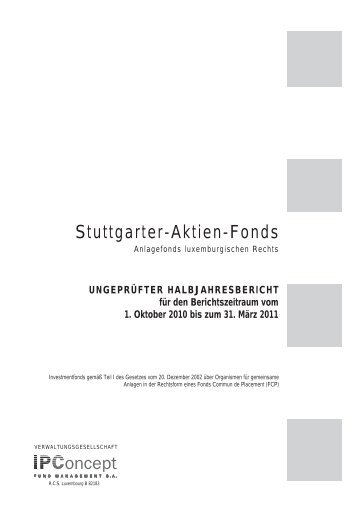 Stuttgarter-Aktien-Fonds - Weiler Eberhardt Depotverwaltung AG