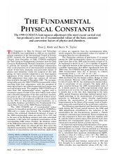 Fundamental Physical Constants - Física re-Creativa
