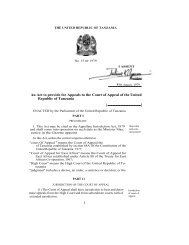 The Appellate Jurisdiction Act, No 15 Of 1979 - The High Court of ...