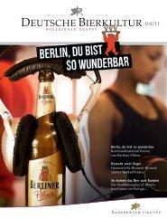 DEUTSCHE BIERKULTUR 04/11 - Radeberger Gruppe KG