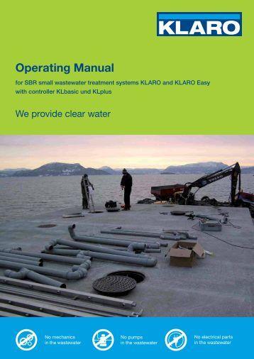 Operating Manual - KLARO GmbH