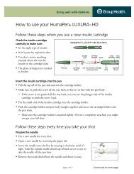 How to use your HumaPen® LUXURA™ HD - Group Health ...