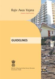 Ray Guidelines - Ministry of Housing & Urban Poverty Alleviation
