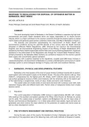 response to regulations for disposal of offensive matter in ... - Inece
