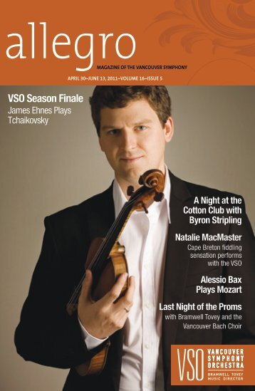 VSO Season Finale - Vancouver Symphony Orchestra