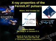X-ray properties of the Fermi/LAT pulsars