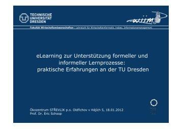 eLearning zur Unterstützung formeller und informeller Lernprozesse ...