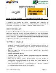 DESCRITIVO TÉCNICO OCUPAÇÃO 18 - nead@senairs.org.br