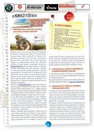 Newsletter n.6 - 2013 - Federazione Ciclistica Italiana