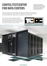 CONTEG TESTCENTER FOR DATA CENTERS