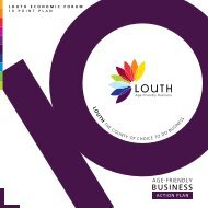 Louth Age Friendly Business Action Plan - EuroHealthNet's Healthy ...