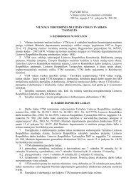 Vilniaus teritorinės muitinės vidaus tvarkos taisyklės - Lietuvos ...