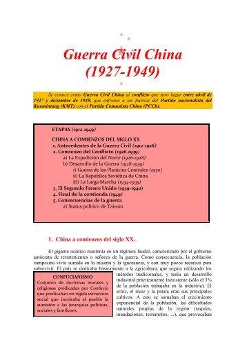 Guerra Civil China (1927-1949)