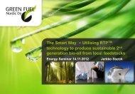The Smart Way - Utilising RTPTM technology to produce sustainable ...