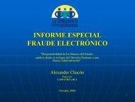 Presentación del Informe Especial - Red Iberoamericana de ...