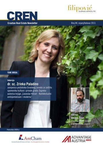 dr. sc. Zrinka Paladino dr. sc. Zrinka Paladino - Filipović poslovno ...