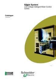 catalog okken lv intelligent mcc - Schneider Electric