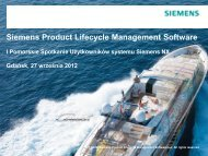 Siemens Product Lifecycle Management Software
