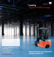 Leasing Toyota Forklift Leasing - Toyota Financial Services
