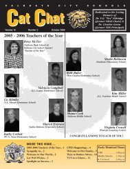 October 2005 - Valdosta City Schools