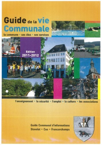 Guide communal d'informations - Stavelot