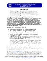 Factsheet IMF quotas - METAC