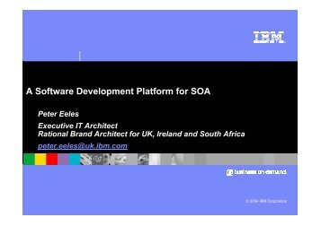A Software Development Platform for SOA.pdf - Architecting.co.uk