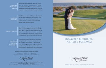 Wedding Brochure Download PDF - Kiawah Island Golf Resort