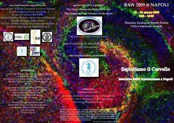 Esploriamo il Cervello Iniziativa delle Neuroscienze a Napoli - EMBL
