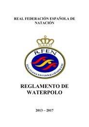 Reglamento de Waterpolo 2009 - Federación Vasca de Natación.