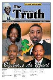 Volume 17, No.25 April 21, 2010 - The Sojourner's Truth