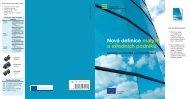 Nová definice malých a středních podniků – uživatelská ... - Europa