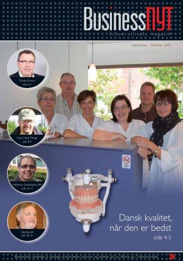 Dansk kvalitet, når den er bedst - businessnyt.dk