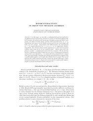 Hypercontractivity in group von Neumann algebras - ICMAT