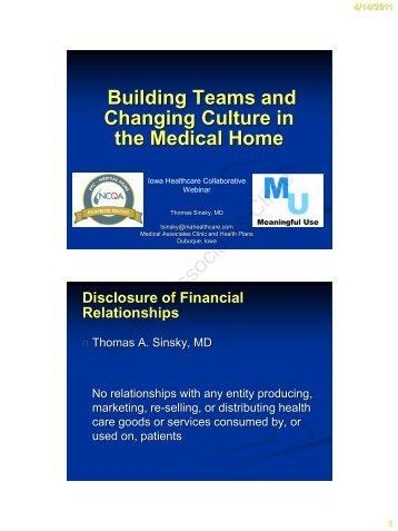 Mini-huddle - Iowa Healthcare Collaborative