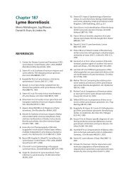 Ch. 187 Lyme Borreliosis