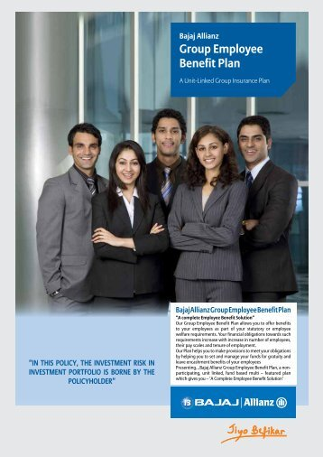 Group Employee Benefit Plan - Bajaj Allianz