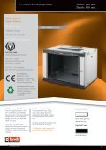 NETbox Wall Mounting Cabinets W600xD450mm Pdf View - LANDE - Page 7