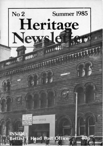 Heritage Newsletter, No 2