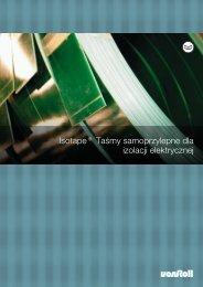 Isotape® Taśmy samoprzylepne dla izolacji elektrycznej - Von Roll