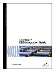 DDS Integration Guide